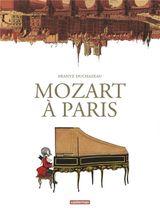 Couverture Mozart à Paris