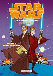 Couverture Clone Wars Episodes - Tome 1 : Heavy Metal Jedi