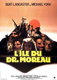 Affiche L'Île du docteur Moreau