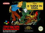 Jaquette Tintin : Le Temple du Soleil