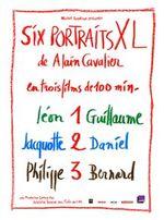 Affiche Six portraits XL 1 - Léon et Guillaume