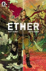 Couverture L'Assassinat de la flamme d'or - Ether, tome 1