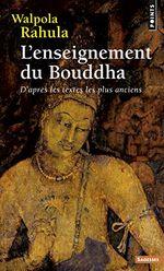Couverture L'enseignement du Bouddha