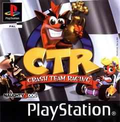 Jaquette CTR: Crash Team Racing