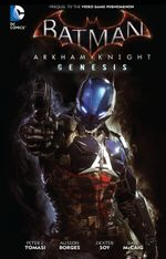 Couverture Batman: Arkham Knight Genesis