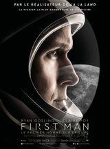 Affiche First Man : Le Premier Homme sur la Lune