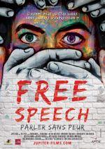 Affiche Free Speech, Parler Sans Peur