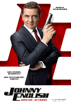 Affiche Johnny English contre-attaque