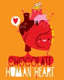 Pochette Chocolate Human Heart (Filled with Songs of Love)