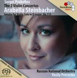 Pochette The 2 Violin Concertos / Sonata for Violin Solo in D major, op. 115