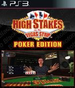 Jaquette High Stakes On The Vegas Strip : Poker Edition