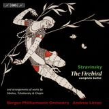 Pochette The Firebird and arrangements of works by Sibelius, Tchaikovsky & Chopin