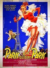 Affiche Paris est toujours Paris