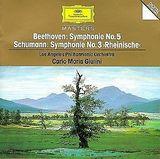 """Pochette Beethoven: Symphonie no. 5 / Schumann: Symphonie no. 3 """"Rheinische"""""""