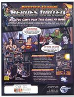 Jaquette Justice League Heroes United