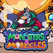 Jaquette Monsters & Monocles
