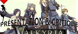 Vidéo Critique anime Valkyria Chronicles