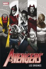 Couverture The avengers Les origines