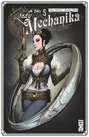 Couverture Lady Mechanika, tome 5