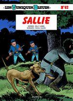 Couverture Sallie - Les Tuniques bleues, tome 62