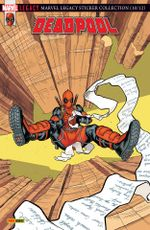 Couverture Deadpool contre Stevil Rogers - Marvel Legacy : Deadpool, tome 3