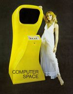 Jaquette Computer Space
