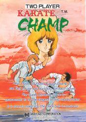 Jaquette Karate Champ