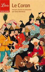 Couverture Le Coran : Versets choisis et présentés