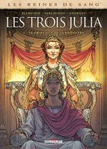 Couverture La Princesse de la poussière - Les Trois Julia, tome 1