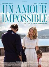 Affiche Un amour impossible
