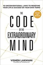 Couverture The code of the extraordinary mind