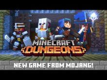 Video de Minecraft : Dungeons