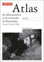 Couverture Atlas du débarquement de la bataille de Normandie