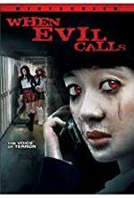Affiche When Evil Calls