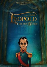 Affiche Léopold, Roi des Belges