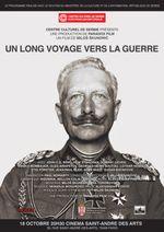 Affiche Un long voyage vers la guerre