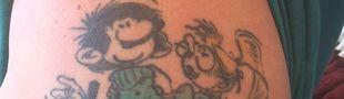Cover Un dur, un vrai, un tatoué: body art en BD