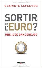 Couverture Sortir de l'euro?