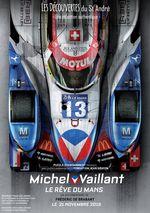 Affiche Michel Vaillant, Le rêve du Mans