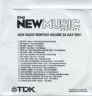 Pochette CMJ New Music Monthly, Volume 94: July 2001