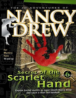 Jaquette Nancy Drew : The Secret of the Scarlet Hand