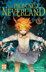 Couverture The Promised Neverland, tome 5