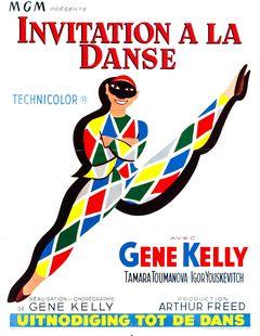 Affiche Invitation à la danse