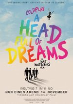 Affiche Coldplay: A Head Full of Dreams