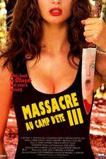 Affiche Massacre au camp d'été 3