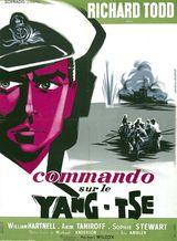 Affiche Commando sur le Yang Tsé