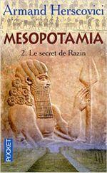 Couverture Mesopotamia, Tome 2 : Le secret de Razin