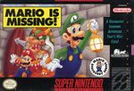 Jaquette Mario is Missing!