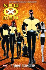 Couverture E comme Extinction - New X-Men, tome 1