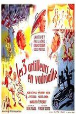 Affiche Trois artilleurs en vadrouille